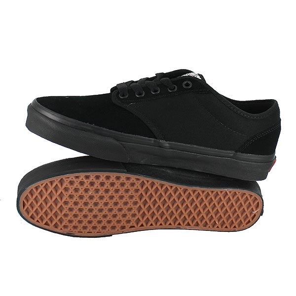 vans all black atwood