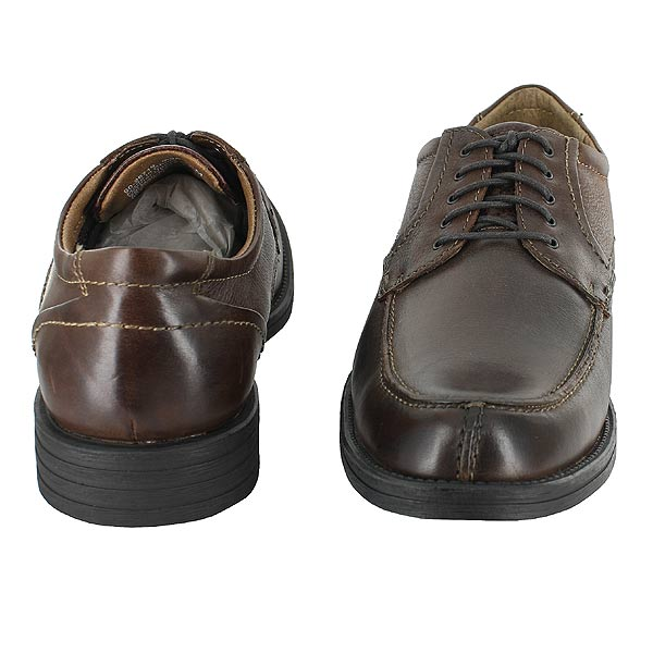 Details about DOCKERS CAREW CASUAL DRESS SHOES DAWN BROWN LEATHER MENS